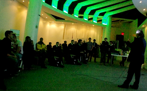 An enthusiastic audience at the BTC CTR of NYC